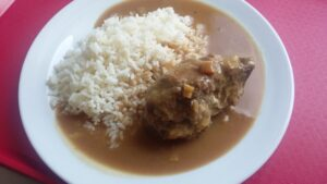 Španělský ptáček, rýže